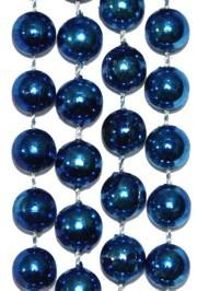 10mm 33in Blue Beads