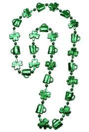 33in Shamrocks and Beer Mug Shaped Beads