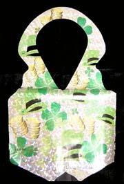 Metallic St Patricks Laser Print Plastic Vest