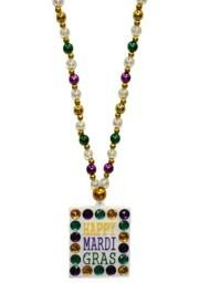 Mardi Gras Beads are essential for any Mardi Gras Party and Parade. The Mardi Gras Colors: Purple represents Justice - Green represents Faith - Gold represents Power.