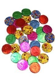 Assorted Color Bubble Gum/Coins
