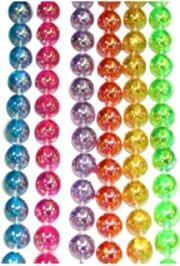 10mm 42in Clear Assorted Color AB Beads