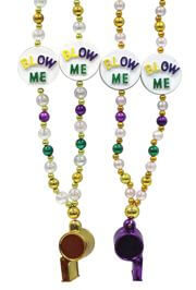 Celebrate Mardi Gras with Funny Beads! We have Whistle necklaces, French Quarter beads and necklaces, ring necklaces, ring beads, pacifier necklaces, Boobs Necklaces, Boobs Beads, and light up beads.