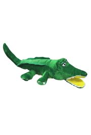 11in Long x 7in Wide Plush Mardi Gras Gator