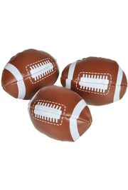 3in Foam Footballs