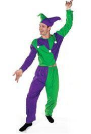 Male Jester Costume.