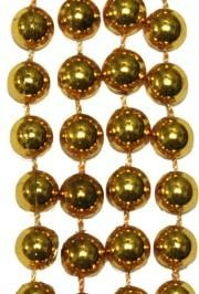 10mm 33in Gold Beads