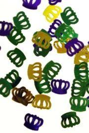 Mardi Gras Crown Confetti