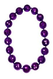 Purple Disco Ball Beads