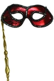 Masks on Sticks: Red Lamei