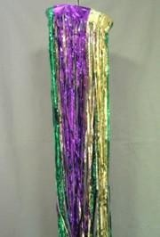12in x 8ft Purple Green Gold Column