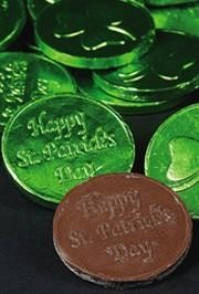Who doesn't love candy with a holiday celebration?  For Saint Patrick's Day we carry Irish Butter Mint Candies, Bubblegum Coins, Chocolate Coins, Banana Moonpies, and plastic Pot-O-Gold Buckets to hold your candy and doubloons.