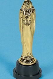 6in Plastic Female Award Statues