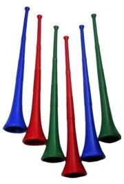 29in Collapsible Assorted Color Stadium Horns