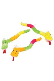 28in Long Multi Colored Snake Plush