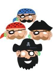 Eye Masks: Assorted Pirate Foam Mask