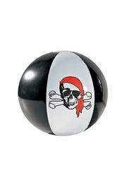 14in Inflatable Pirate Beach Balls