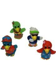 Vinyl Luau Parrots Figures