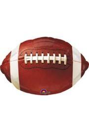 Football Mylar Balloons