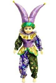 Dolls: Jester With Shiny Pointed Hat