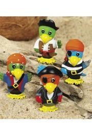 Vinyl Pirate Parrots