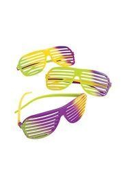 These sunglasses are made for Mardi Gras and fun events. We have Mardi Gras sunglasses, jester sunglasses, fleur de lis sunglasses, and more.