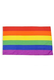 Rainbow Flags and Fantasy Festival Flags are often used as Pride Flags for the gay, lesbian, and LGBT community.
