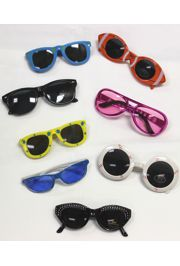 5in Assorted Styles and Colors Sunglasses