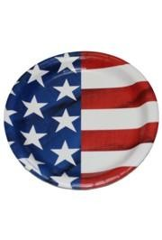 9in American Flag Paper Plates