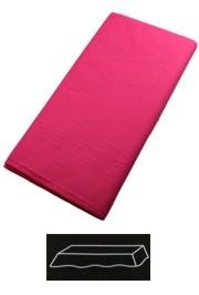 54in x 108in Hot Magenta Plastic Lined Paper Tablecovers