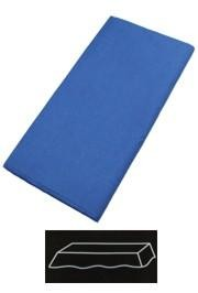 54in x 108in Blue Plastic Lined Paper Tablecovers