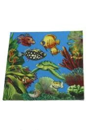 6.5in x 6.5in Ocean Friends Lunch Napkins