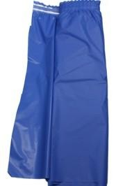 14ft x 29in Blue Plastic Table Skirts