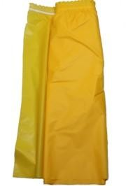 14ft x 29in Yellow Plastic Table Skirts