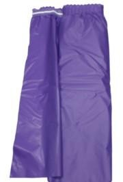 14ft x 29in Purple Plastic Table Skirts