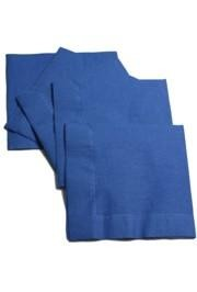 6.5in x 6.5in Blue Lunch Napkins