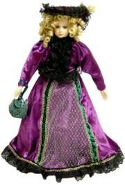Purple Collector Doll