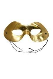Eye Masks: Metallic Gold Lamei