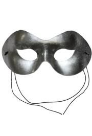 Eye Masks: Metallic Silver Lamei