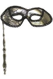 Masks on Sticks: Silver Lamei