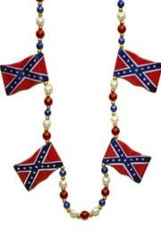 Confederate Flag Bead