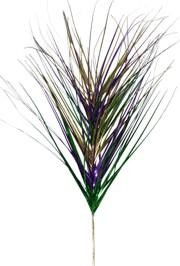 Purple Green and Gold Grass Spray