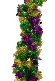 Add the finishing touch to your Mardi Gras decorations with Garland. Our inventory includes Pull Out Garland, Mardi Gras Garland, and Wire Garland.