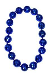 Blue Disco Ball Big Beads