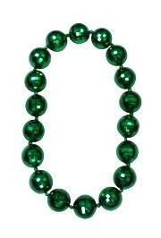 Green Disco Ball Big Beads