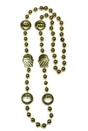 36in Metallic Gold Basketball Net/ Basketball Beads