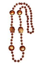 36in Metallic Orange  Basketball Net/ Basketball Beads