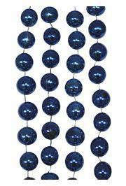 10mm 42in Metallic Royal Blue Beads