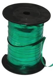 500yd 3/16in Wide Balloons Green Curling Ribbon