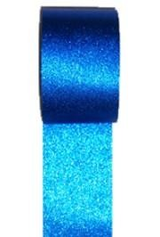 100ft x 2in Metallic Blue Streamer